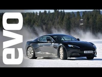 Aston Martin  Vanquish zimní testování