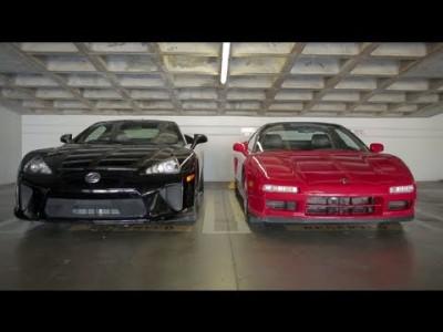 Lexus LFA a Acura NSX