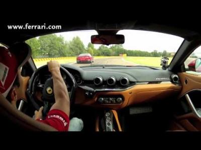 Alonso a Massa s Ferrari F12 Berlinetta