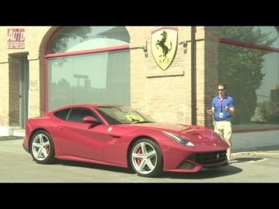 První test Ferrari F12 Berlinetta