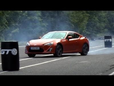 Jak se driftuje s Toyotou GT 86