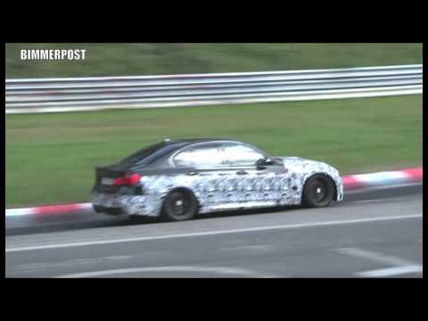 Poslechněte si nové BMW M3 (F80)