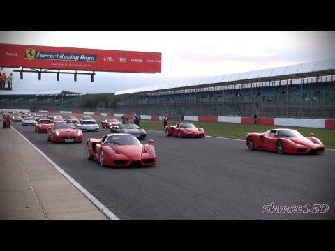 Světový rekord: na okruhu v Silverstone se představilo 964 vozů Ferrari