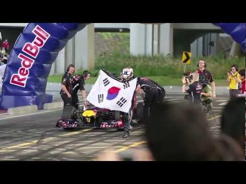 Red Bull jezdil v ulicích Soulu