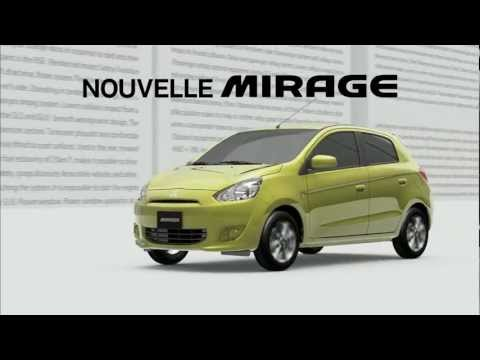 Mitsubishi Mirage na prvním videu