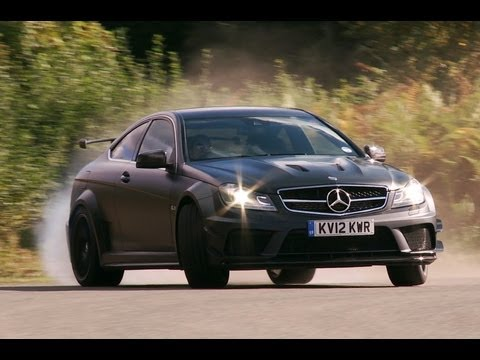 Mercedes C63 AMG Black Series v akci