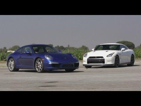 Nissan GT-R vs Porsche 911 Carrera S