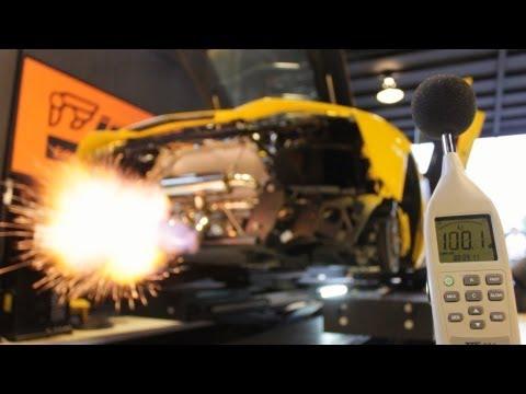 Lamborghini Aventador s výfukem iPE Innotech