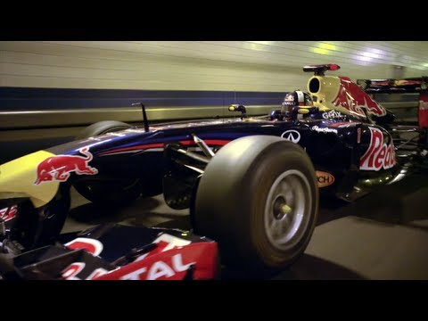 Lincoln Tunnel a Red bull F1