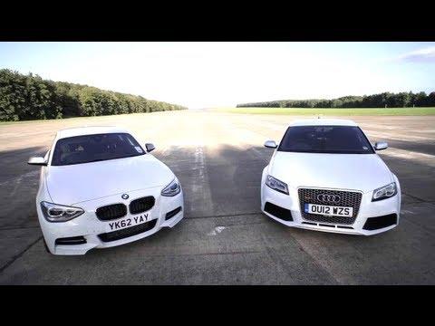 BMW M135i vs Audi RS3