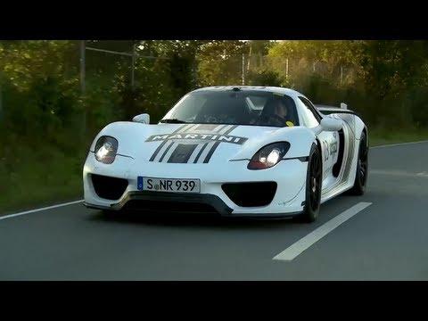 CHRIS HARRIS ON CARS a Porsche 918 Spyder