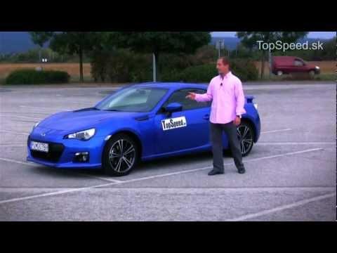 SK test Subaru BRZ