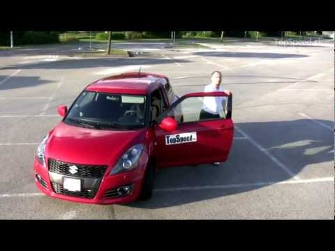 SK test Suzuki Swift Sport