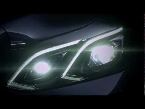 Nový Mercedes E 2013 se ukazuje v krátké upoutávce