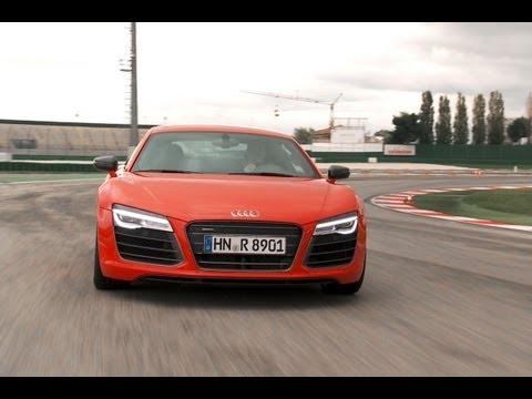 Test Audi R8 V10