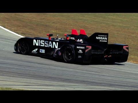Nissan DeltaWing na závodní dráze