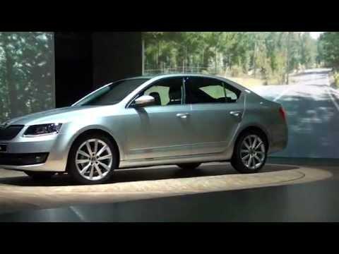 Škoda Octavia III. generace na videu z prezentace