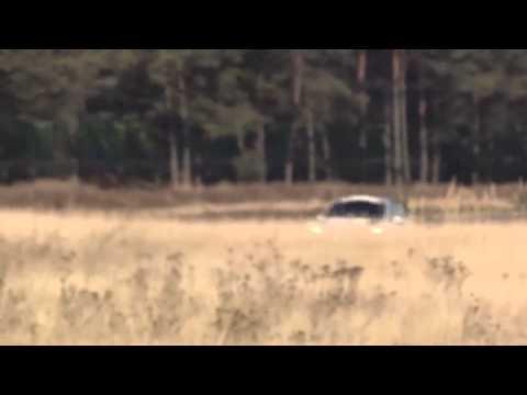 VW Polo R WRC: trénink