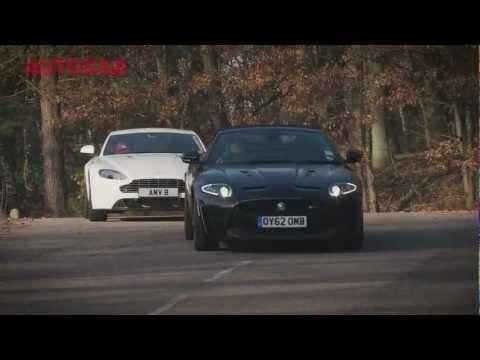 Jaguar XKR-S vs Aston Martin V8 Vantage