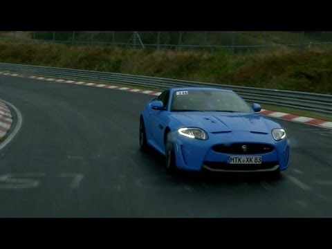 Jaguar na Nurburgringu