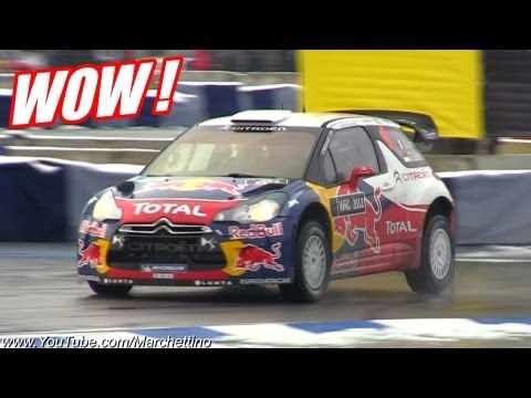 Sebastien Loeb řádí s Citroenem DS3 WRC