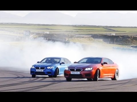 BMW M5 vs BMW M6 Coupe
