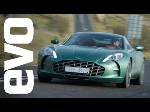 Test: Aston Martin One-77
