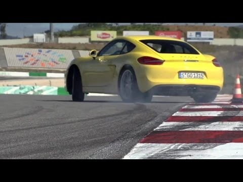 Test:Porsche Cayman S 2013