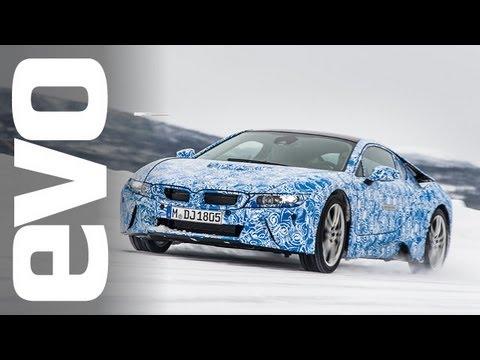 Exkluzivní jízda v BMW i8