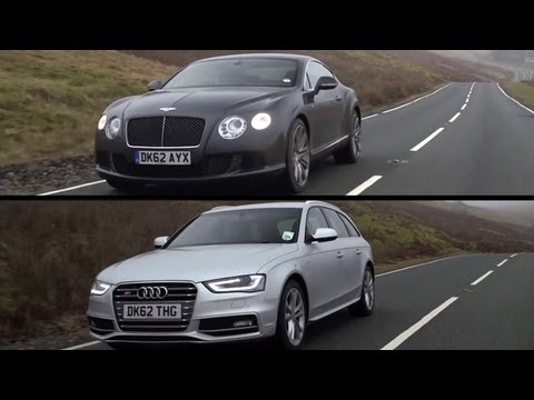 Bentley Continental GT Speed a Audi S4: CHRIS HARRIS ON CARS