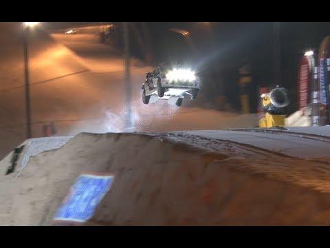 Mads Ostberg skočil s Fordem Fiesta WRC 60,48 metrů