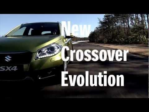 Nové SX4 2013: se představuje na prvních videích