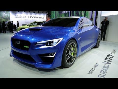 Subaru představilo koncept WRX