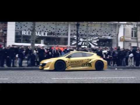 Video: Renault Megane Trophy V6 jako taxík v Paříži