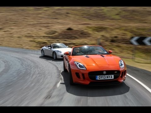 Video: Jaguar F-type vs Porsche 911