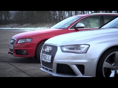 Video: Audi S4 vs Audi RS4 – CHRIS HARRIS ON CARS